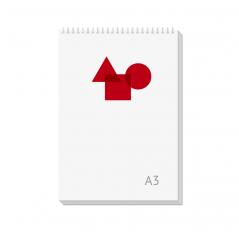Блокнот А3
